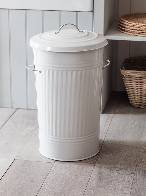 GARDEN TRADING ORIGINAL KITCHEN BIN LARGE CHALK