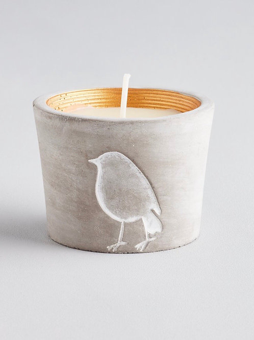 ST. EVAL Inspiritus, Winter Wildlife Robin Candle