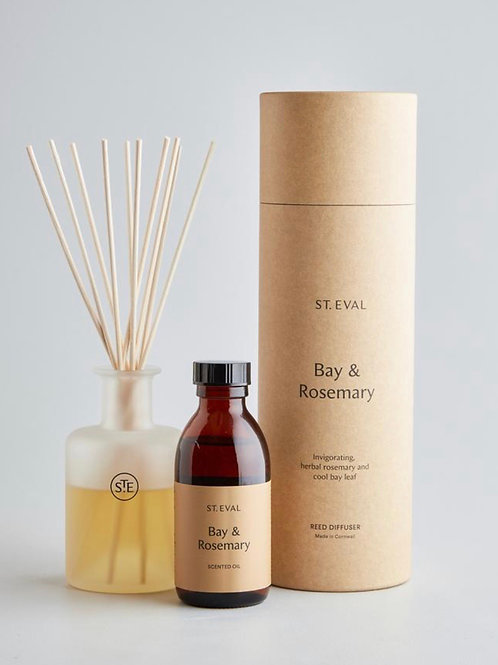 St Eval Candle Company Bay & Rosemary Reed Diffuser