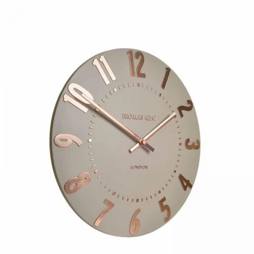 THOMAS KENT 20 INCH MULBERRY WALL CLOCK