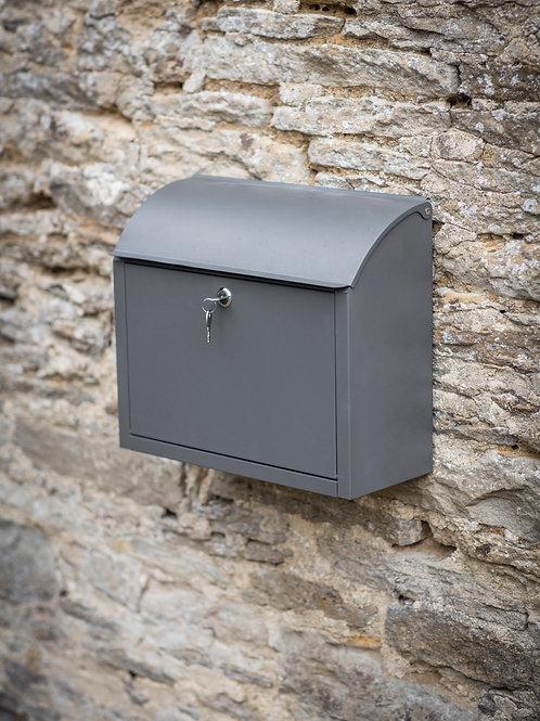 GARDEN TRADING STOWE POST BOX CHARCOAL