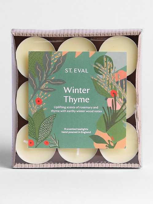 St Eval Candle Company Winter Thyme Scented Christmas Tealights
