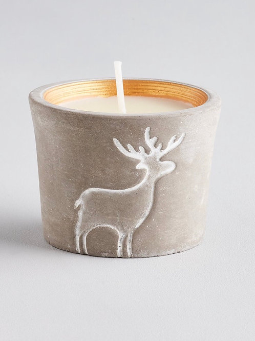 ST. EVAL Orange & Cinnamon, Winter Wildlife Reindeer Candle