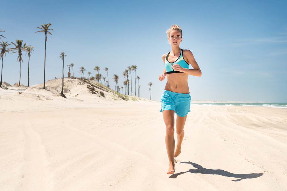 Running On The Beach Sun Exposure Omega 3 Fish Oil Dr Nathan's Chiropractic Studio Windsor Prahran Melbourne