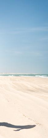 Fille Courir sur la plage