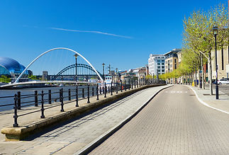 The Big Smile UK Newcastle Quayside and city walk