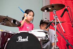 中野・吉祥寺・西荻窪・池袋のドラムレッスン|Cozy Up ドラム教室|発表会写真|子供