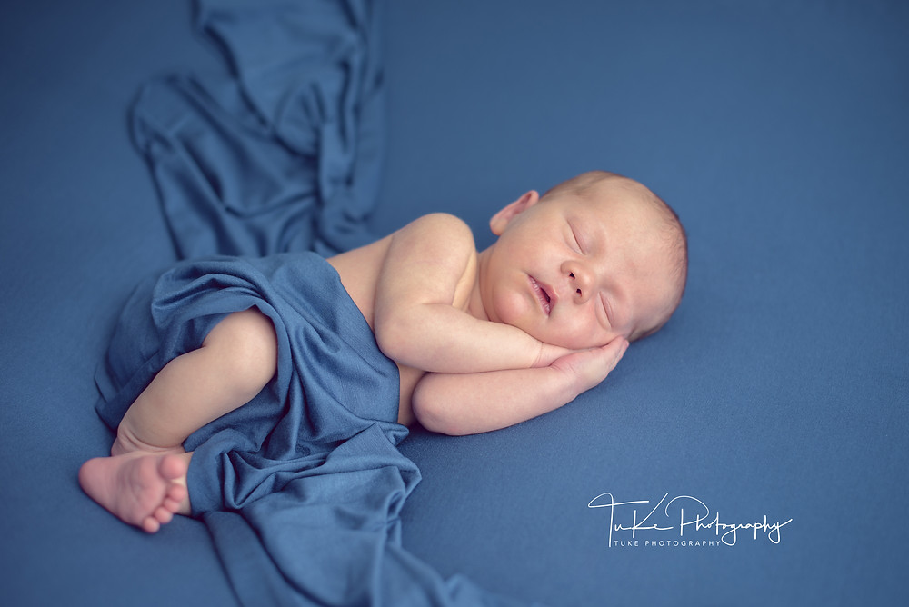 newborn baby boy Patrick, 10 days old