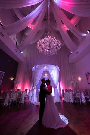 Crystal Ballroom wedding photo