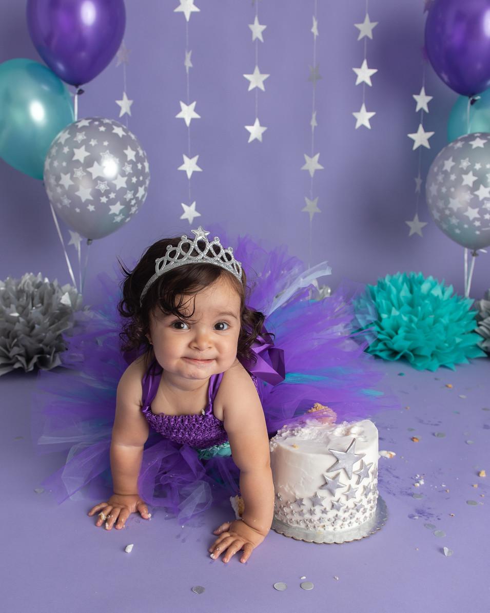 Twinkle Twinkle Little Star cake smash