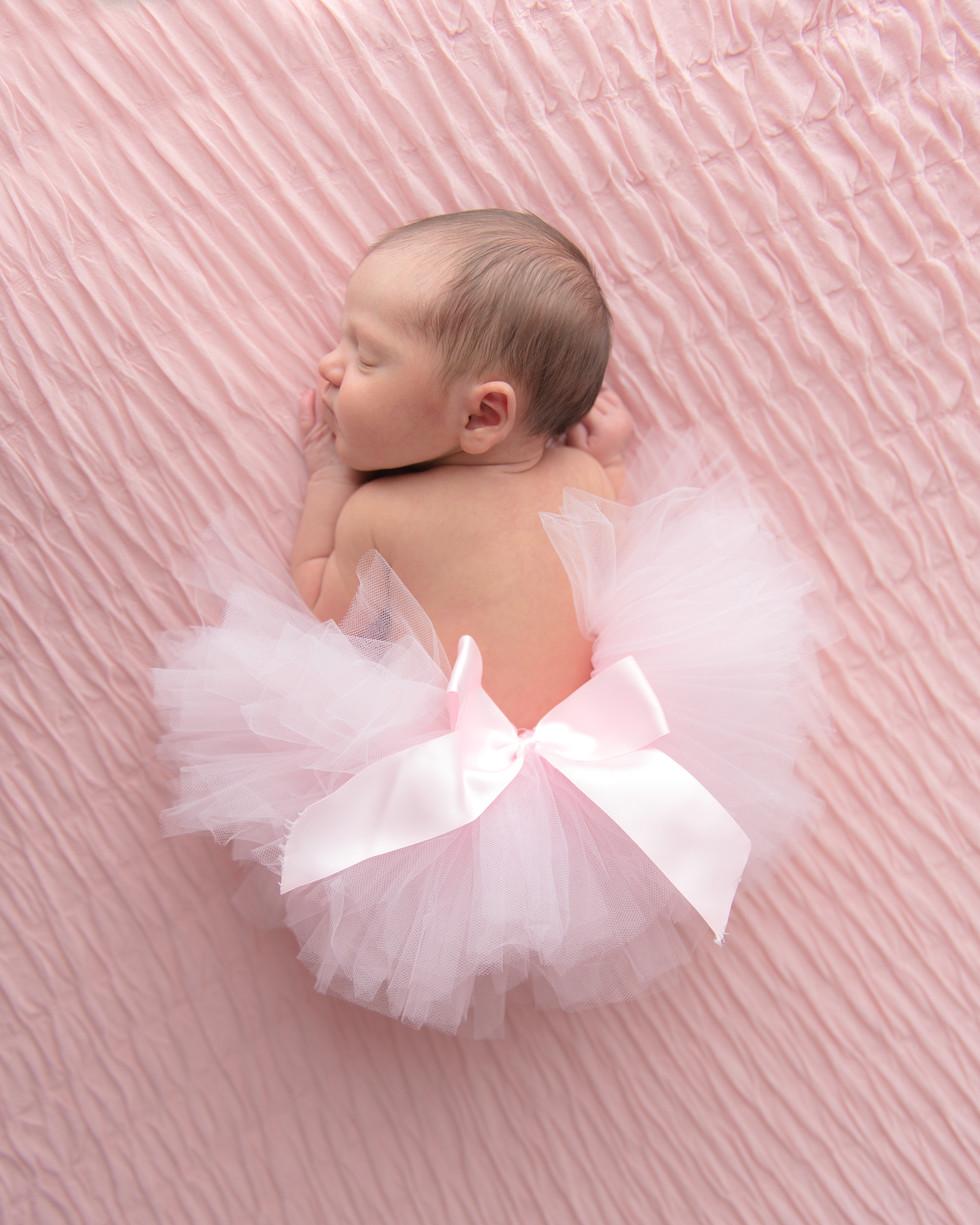 ballerina inspired newborn session