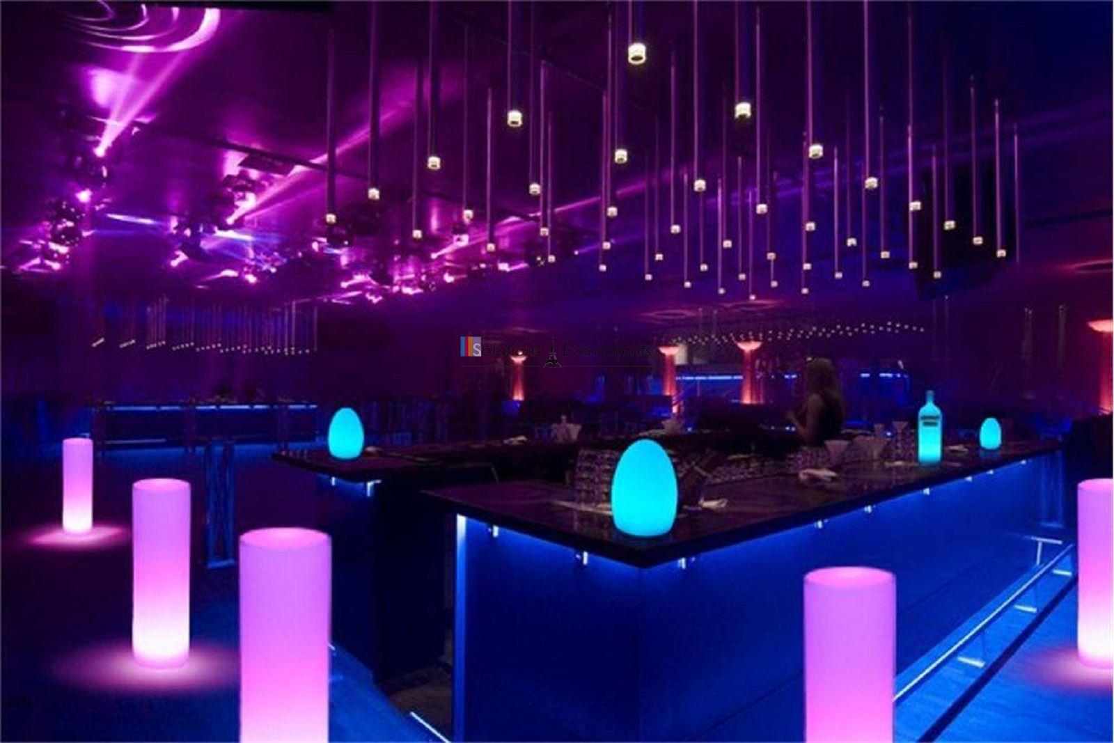 Colonne Lumineuse LED 115 cm