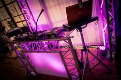 Stand DJ Design Rétroéclairé