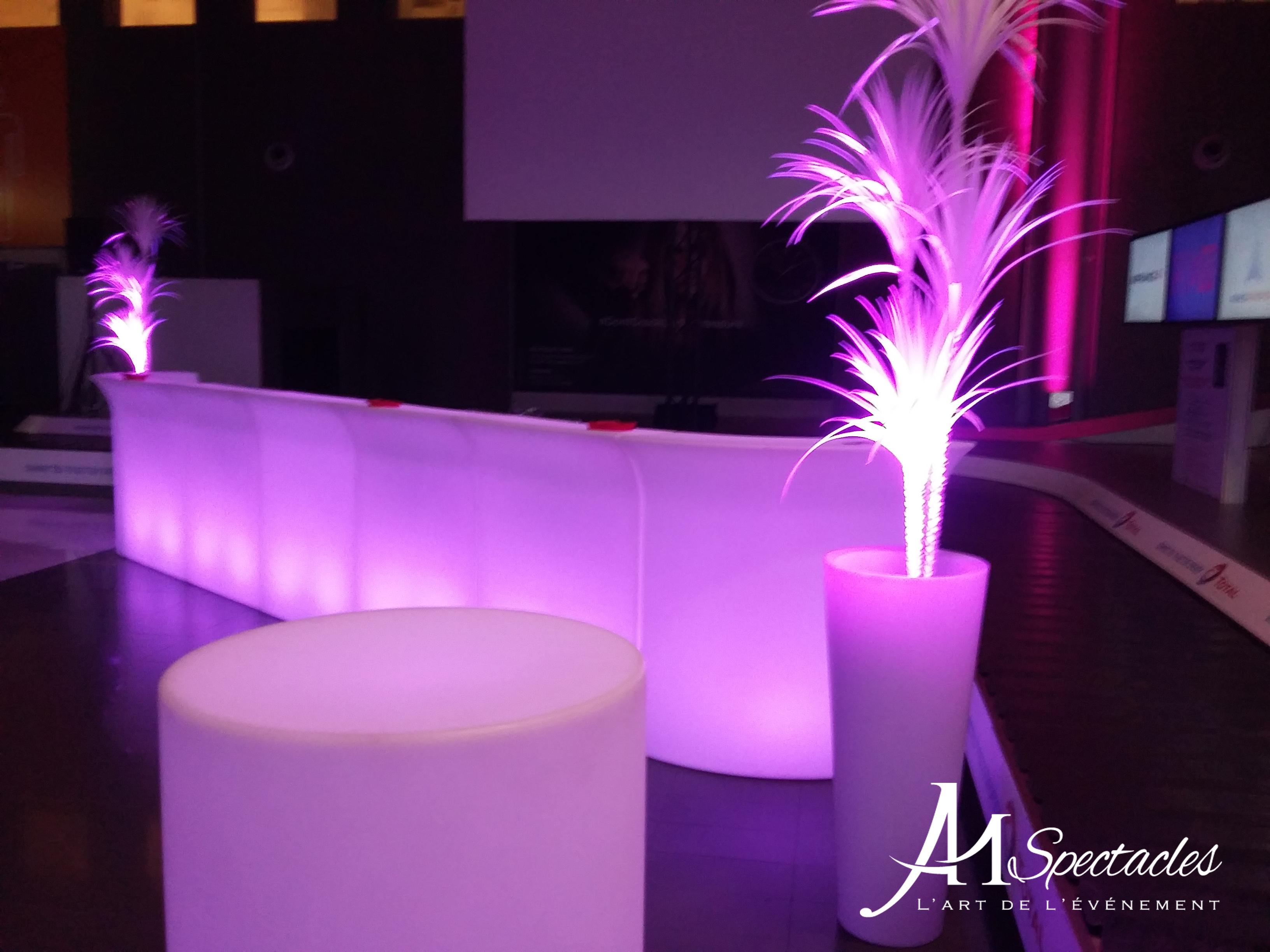Bar lumineux grand 2 logo