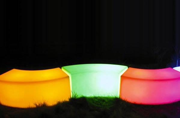 Banc Snake Lumineux LED