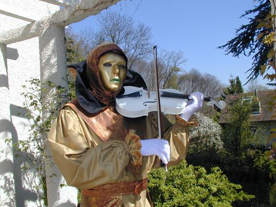 Violoniste vénitien