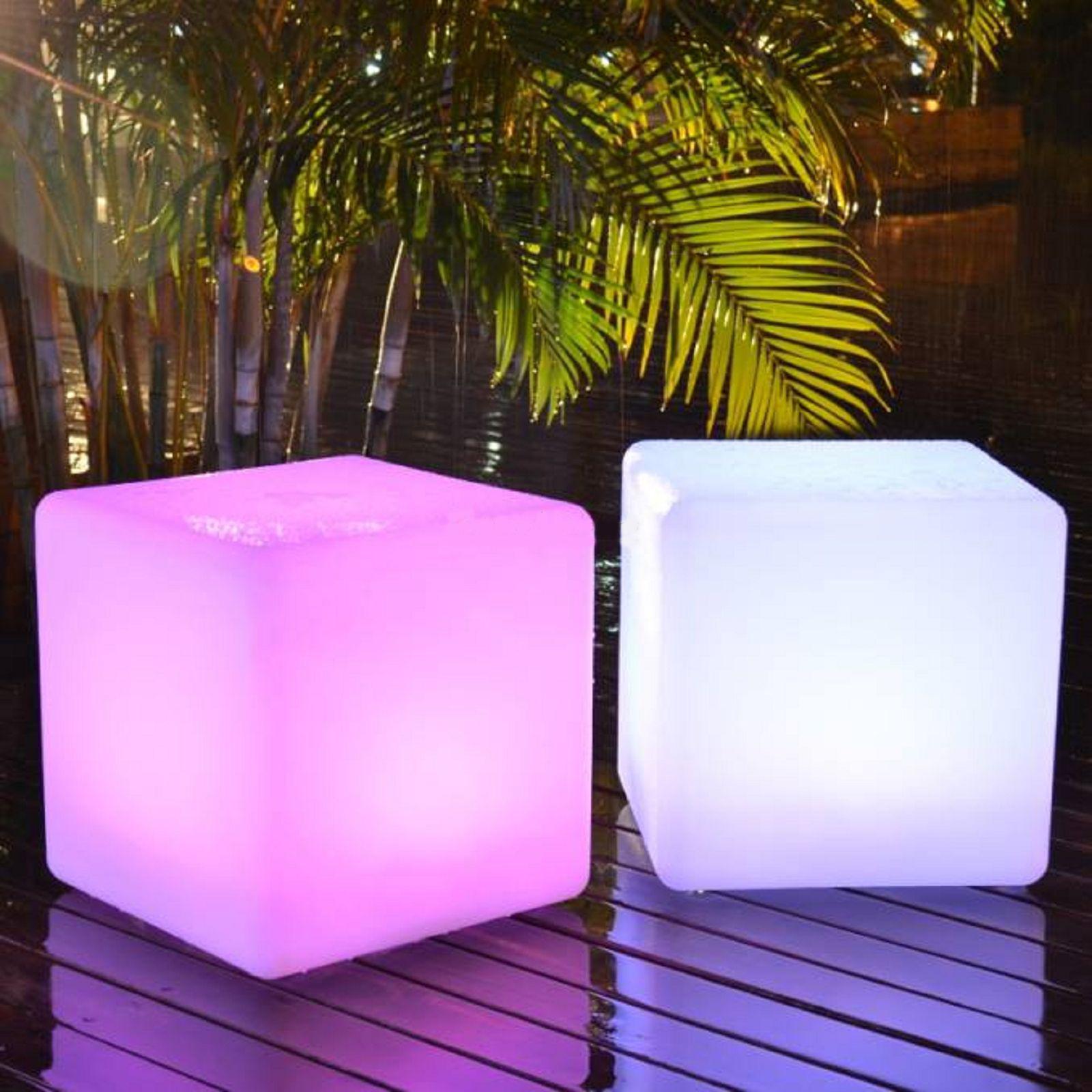 Cube Lumineux LED sans fil 40cm