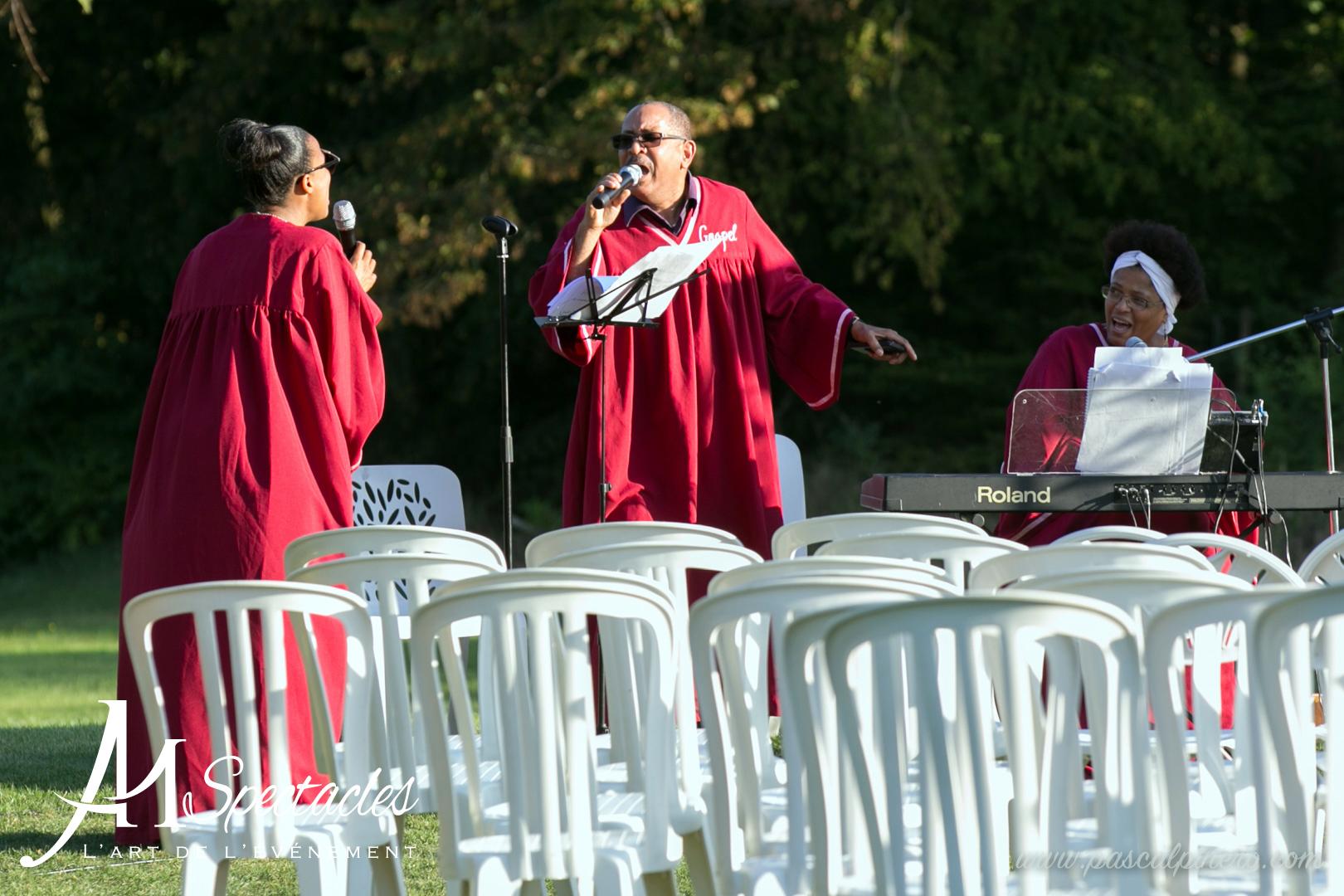 Groupe Gospel Am Spectacles Cérémonie Mariage Maubuisson Oise