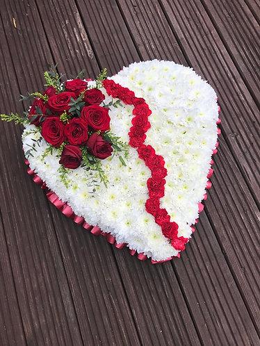 18 inch Brocken heart