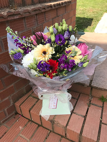 Lovely  mix bouquet  in water
