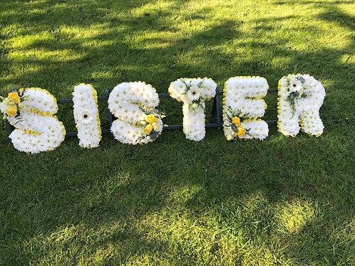 Sister tribute
