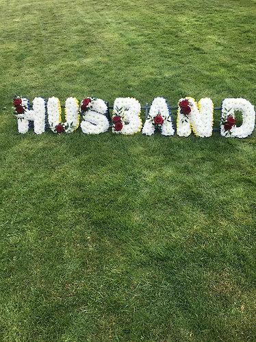 Husband letters