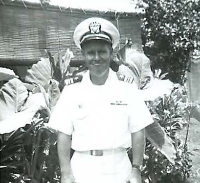 Jim Nourse in this Navy whites 1958
