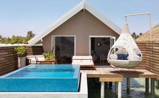 Bangalô Romantic Pool Water Villa (Com piscina privativa).