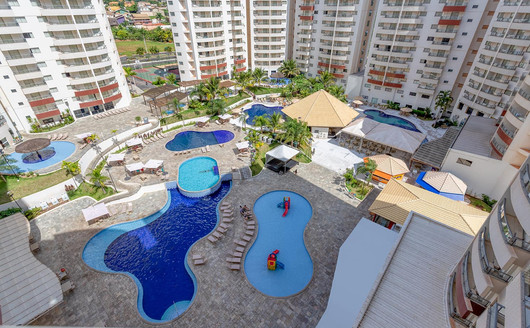 Vista Aérea do Wyndham Olimpia Royal Hotels