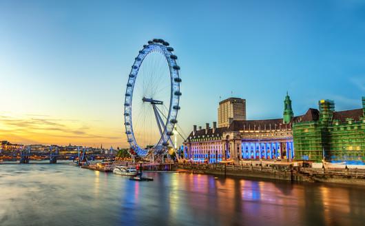 Roda Gigante London Eye - Londres