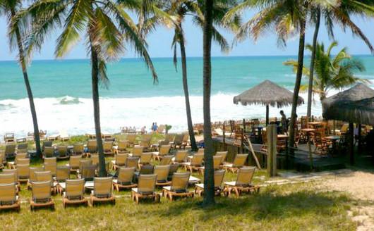 Vista do Clube de Praia