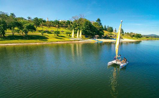 Esportes Náuticos no Lago