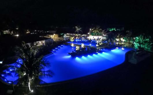 Serrambi Resort à noite