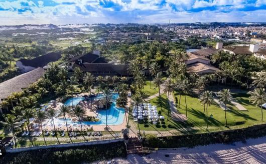 Vista Aérea do Piscina do Catussaba Resort Hotel