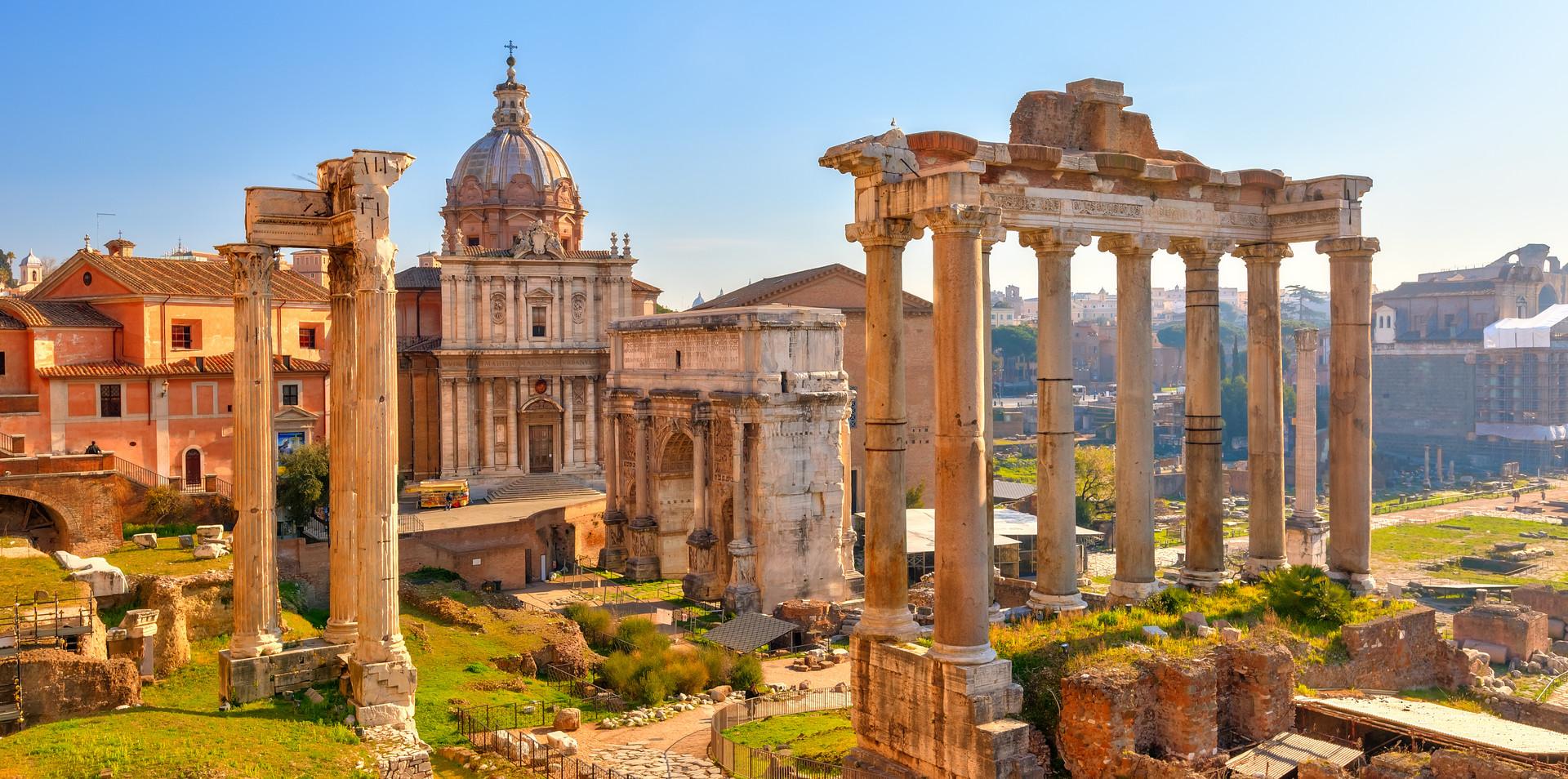 Fórum Romano e Palatino - Roma