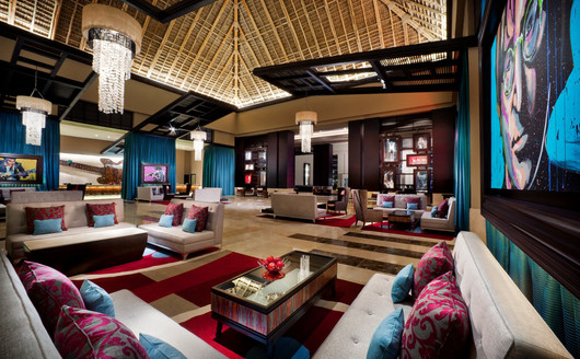 Lobby Principal do Resort
