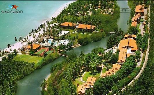 Vista Aérea do Salinas Maragogi Resort