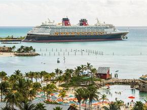 Disney Cruise Line retomará viagens às Bahamas em agosto.
