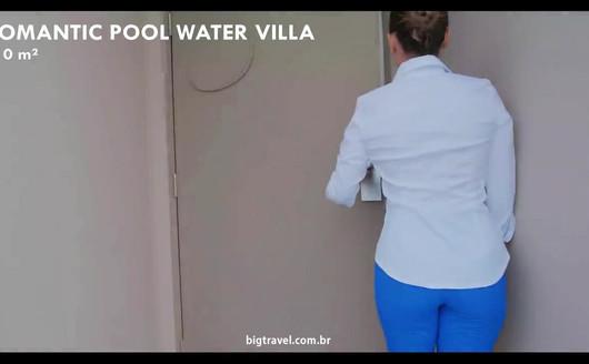 Tour Romantic Pool Water Villa