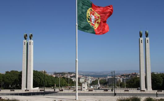 Bandeira Hasteada  Wikipédia Parque Eduardo VII - Lisboa