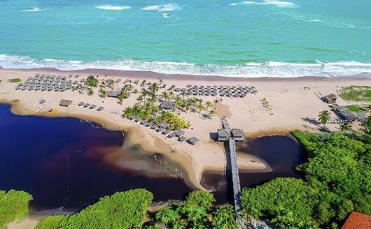 Vista Aérea Praia Pratagy