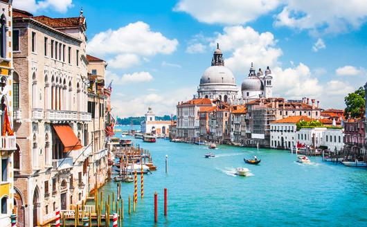 Grande Canal em Veneza - Itália