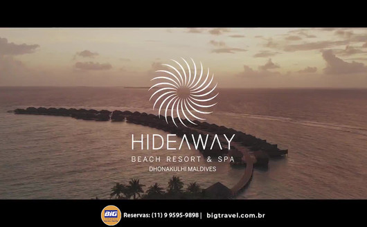Conheça o Hideaway Beach Resort & Spa Maldives