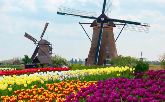 Moinho de Keukenhof - Holanda