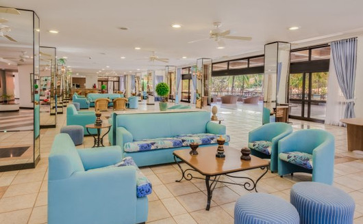 Lobby do Blue Tree Termas de Lin