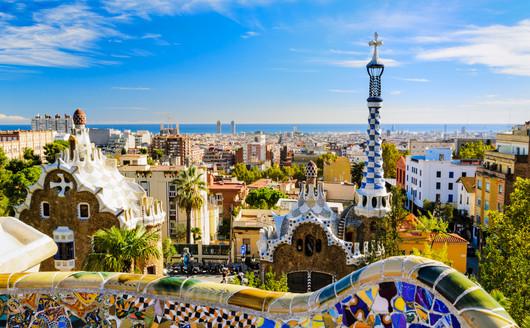 Parque Guell, Barcelona - Espanha