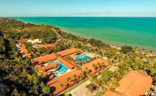 Vista Aérea do Porto Seguro Praia Hotel