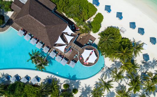 Vista Aérea do Resort.