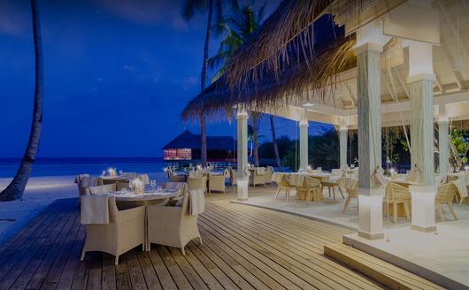 Um dos Restaurantes do Resort.