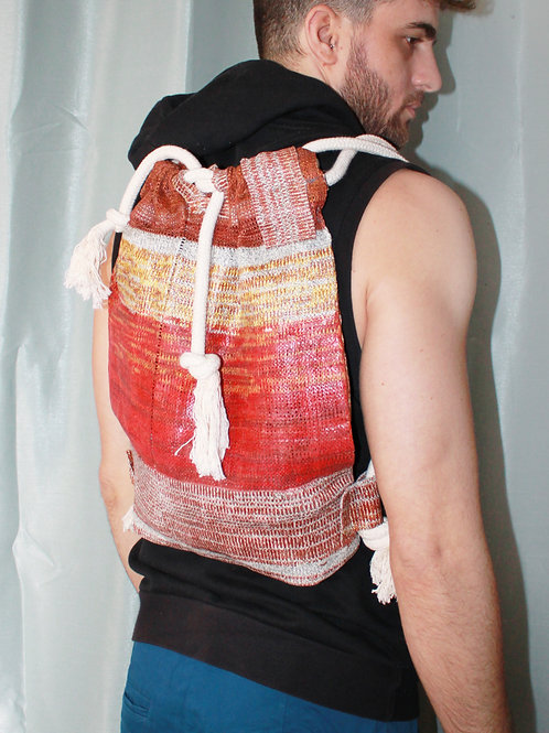Knitted Backpack #1